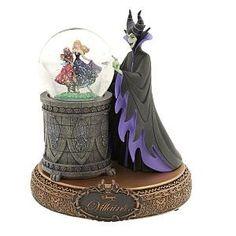 Maleficent, A Disney Villain Snowglobe Dark Disney, Cute Disney, Disney Art, Disney Pixar, Disney Stuff, Sleeping Beauty Maleficent, Disney Sleeping Beauty, Maleficent Disney Villains, Disney Princesses