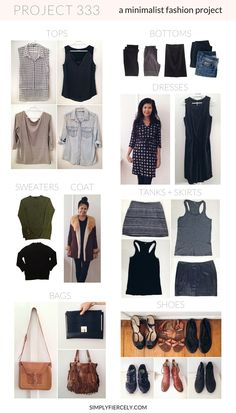 Project 333 is a 3 month minimalist fashion experiment - but it's so much more than that. I believe starting to dress with less is a springboard that can you start you down the path to minimalism and intentional living. I'll be dressing with 33 items for the next 3 months. Click to see what's in my closet!