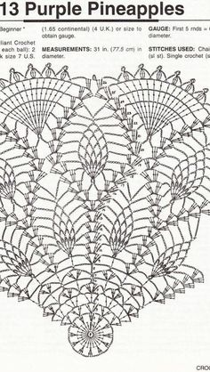 Doilies for Dressing Table pattern by Lily Mills Company Crochet Doily Diagram, Crochet Motif Patterns, Crochet Mandala, Crochet Art, Crochet Home, Thread Crochet, Filet Crochet, Vintage Crochet, Crochet Stitches
