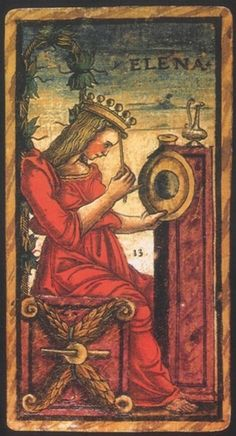 Sola Busca tarot deck was commissioned to honor Alfonso d'Este on the occasion of his wedding to Anna Sforza, granddaughter of Bianca Maria Visconti.