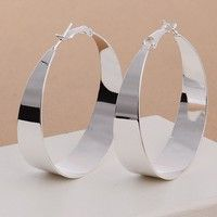 Brand: Unbranded Material: silver Style: Hoop Country/Region of Manufacture: China Metal: 925 Sterli