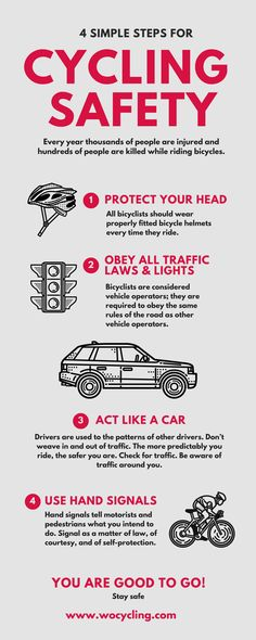 Cool 4 Simple Cycling Safety Tips