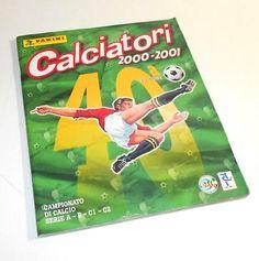 CALCIATORI-2000-2001-Panini-italy-sticker-book-album-figurine-incompleto Sticker Books, Album Book, Italy, Stickers, Baseball Cards, Sport, Cover, Italia, Sticker