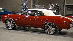 70 chevelle bonspeed sweep wheels