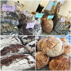 Glad påsk härliga ni! Idag har vi bunkrat upp med massor av gott bröd inför helgen  varmt välkomna öppet till 14! #gladpåsk #trevlighelg #godsaker