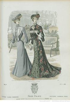 Mode-palace. Album mensuel des dernières créations parisiennes | 1902-05…