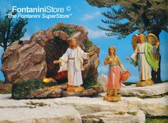5 Inch Scale Resurrection by Fontanini - Figures sold separately