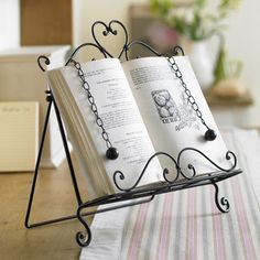 Recipe Cookbook Stand For Home Baking - storage