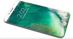 iPhone 8 : un écran de 58 pouces dont 515 pouces utilisables et une zone de fonctionnalités