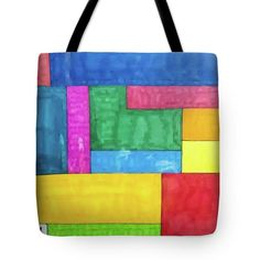 Tote Bag featuring the drawing Quad by Sara LaMothe Quad, Abstract Art, Fashion Accessories, Reusable Tote Bags, Drawing, Sketches, Quad Bike, Draw