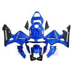 Aftermarket Fairings For Honda CBR600RR 03-04 Blue Black ABS Kits 2003 2004