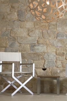 Coolum Random Ashlar Stone: Wall Cladding by Eco Outdoor Brick Cladding, House Cladding, Wall Cladding, Stone Interior, Luxury Interior, Interior Paint, Interior Decorating, Painted Brick Ranch, Stone Veneer Exterior