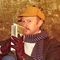 Mark Gatiss - The ultimate Sherlock Holmes fanboy