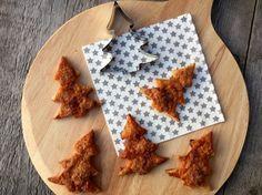 Recept: Kaneel kerstboom koekjes van bladerdeeg