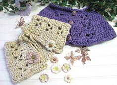 Ravelry: Butterfly Capelet Crochet Pattern pattern by Jean Fleming