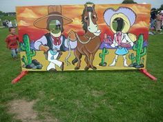 cowboy cutouts | Fairground Attractions - Cut Outs