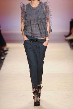 Isabel Marant|Den cotton-blend tapered pants|NET-A-PORTER.COM