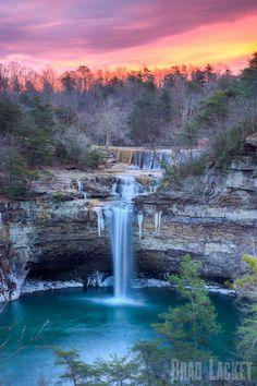 Desoto Falls, Desoto State Park, Mentone, Alabama