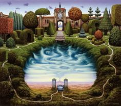 Jacek yerka Surrealist world http://www.saynotes.com/jacek-yerkas-surrealist-world/