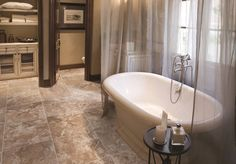Get the look of stone with tile!