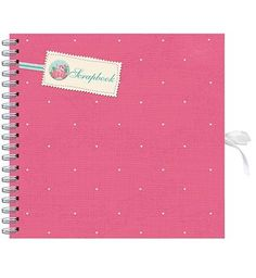 #Anker Pink  Cream Hearts Scrapbook Album- 20 #48 Advantage card points. This pink and cream hearts scrapbook contains 20 sheets to display your photos. FREE Delivery on orders over 45 GBP. (Barcode EAN=5012128386381)