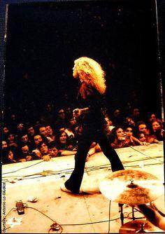 Robert Plant, Milan, Italy, July 1971