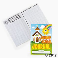 """Sunday School"" Journals"