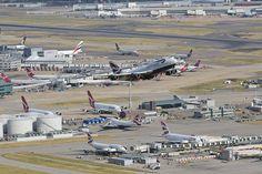 .. Airbus A380, Boeing 747, Fly Around The World, Around The Worlds, Jumbo Jet, Heathrow Airport, Commercial Aircraft, Civil Aviation, British Airways