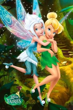 Disney Fairies - Poster (Secret Of Wings - Tinkerbell & Friend) (Size: x Bell and her sister parerwinkel Disney Animation, Disney Pixar, Walt Disney, Disney Cartoons, Disney Art, Merida Disney, Disney Wiki, Disney Posters, Disney Villains