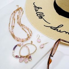 Hello summer! Layers of beads are the perfect throw-on, holiday accessory. #loveargento  .  .  .  .  #ss17 #jewellery #fblogger #details #accessories #ukblogger #armcandy #wristshot #argentojewellery #rose #rosegold #pink #purple #pastel #beads #poolside #summer #sun #hellosummer #sunnies #beach #love #ootd #fashionblogger #flatlay #necklace #earring #bracelet #layer