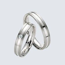 Verighete din aur alb cu briliante. Aur, Twin, Floral, Rings, Wedding, Jewelry, Valentines Day Weddings, Jewlery, Jewerly
