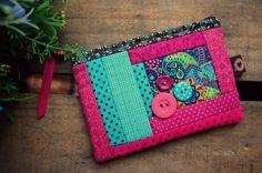 Necessaire Mini 6260 Coin Purse, Purses, Wallet, Bags, Pasta, Scrappy Quilts, Women's, Wallets, Dressmaking