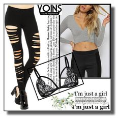 """YOINS-15"" by dzemila-c ❤ liked on Polyvore featuring yoins, yoinscollection and loveyoins"