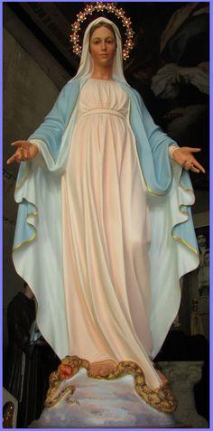 """""""¡Bendita sea la santa, inmaculada y purísima Concepción de la siempre Virgen María, madre de Dios!"""""""
