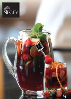 Red Sangria by Negev Restaurant