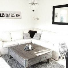 Small Living Room Decorating Ideas - coffee table