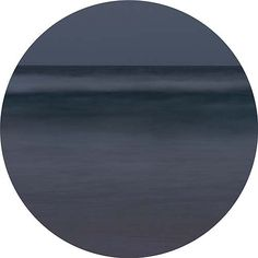 Nicole Welch  Tondo #2, Low Tide by Moonlight 2014  pigment ink, facemounted 60cm diameter edition of 6