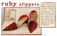 """What a great project, """"I don't think we're in Kansas any more. Paper Shoes, Tombow Usa, Ruby Slippers, Altered Art, Photo Book, Paper Cutting, Scrapbook Paper, Digital Scrapbooking, Kansas"""