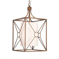 Josie Antique Copper Iron Chandelier with Fabric Shade - Overstock™ Shopping - Great Deals on Otis Designs Chandeliers & Pendants