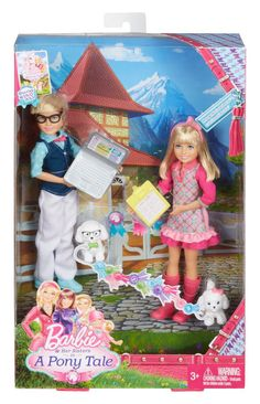 Barbie and Her Sisters in a Pony Tale Twins Max and Marie Doll, Barbie Chelsea Doll, Barbie Doll Set, Barbie Sets, Doll Clothes Barbie, Barbie Doll House, Mattel Barbie, Barbie And Her Sisters, Barbie Family, Lol Dolls