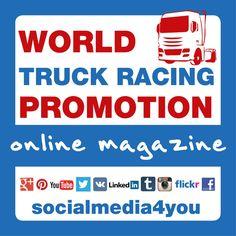 World Truck Racing Promotion - online magazine Freightliner Trucks, Volvo Trucks, Lifted Trucks, Medium Duty Trucks, Heavy Duty Trucks, Grand Prix, Online Marketing, Social Media Marketing, Trailers For Sale