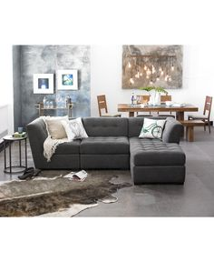roxanne fabric modular living room furniture collection only at macy