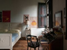 """Lombardy villa in Call Me By Your Name...""""furniture with heritage and a family without money."""""""