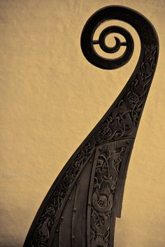 Oseberg viking ship carvings