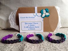 Three sisters matching bracelets matching by Emmiemaeboutique
