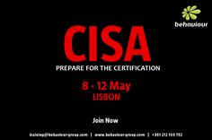 Global recognition in information systems audit. Register now and guarantee your place.