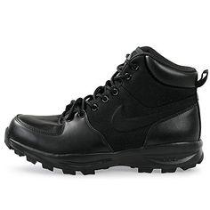 buy online bfd26 ab43e  456975-001  MEN S NIKE MANOA TXT ACG SNEAKER BOOT BLACK   BLACK SZ