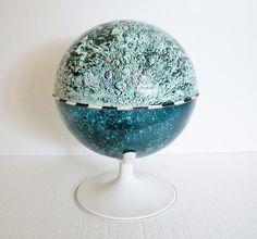 Vintage Moon Globe by J Chein  by vintagecals