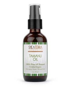 Ever wondered about Madagascar's secret to rejuvenating skin? How about the anti-aging secret of supermodels? Well, you just found the answer to both! Supermodel Carol Alt shared with Dr. Oz on his show in April 2011 that she uses healthy eating, plus Tamanu Oil to keep her skin looking great. This oil from Shea Terra Organics has anti-inflammatory and antibacterial properties as well as properties that encourage cell regeneration, transforming dull skin and healing scars.