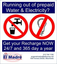 Need prepaid water and electricity? We have it! Are you running low on airtime or data? We sell it!  We also offer your general braai essentials and groceries, and the best thing about us is, we are open 24/7, 7 days a week, 365 days a year.  Now that's what I'm talking about! If you have any inquires feel free to contact our friendly staff on 013 744 1156 #elmadreengen #prepaid #engen Dr E, Pre Paid, Filling Station, Lululemon Logo, Essentials, Running, Feelings, Water, Gripe Water